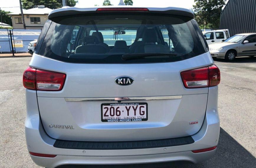 2017 KIA CARNIVAL S  YP  WAGON