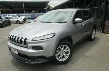 Used 2015 JEEP CHEROKEE KL MY15 Sport Wagon 5dr Spts Auto 9sp 2.4i