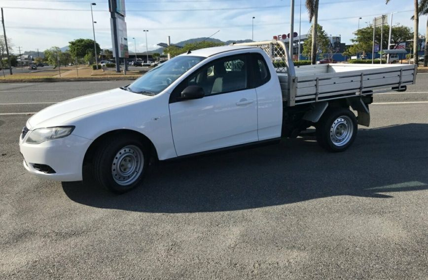 2010 FORD FALCON UTE   FG  UTILITY Extended Cab