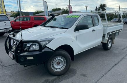 Used 2016 MAZDA BT-50 UR0YG1 XT Cab Chassis Freestyle 4dr Man 6sp 4x4 1340kg 3.2DT