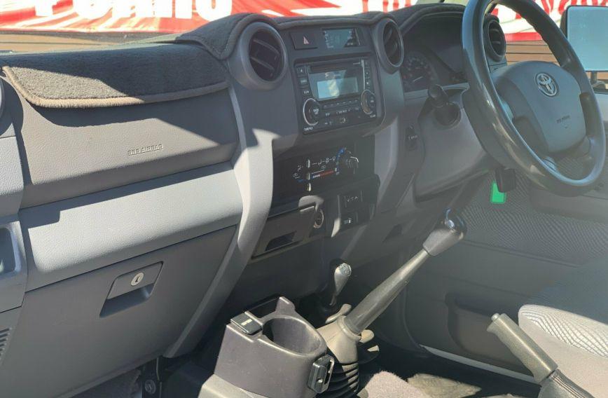 2013 TOYOTA LANDCRUISER GXL  VDJ79R Turbo CAB CHASSIS Single Cab