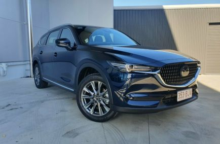 Demo 2021 MAZDA CX-8 KG4W2A GT Wagon 7st 5dr SKYACTIV-Drive 6sp i-ACTIV AWD 577kg 2.2DTT
