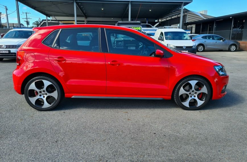 2012 VOLKSWAGEN POLO GTI  6R S/Charge HATCHBACK