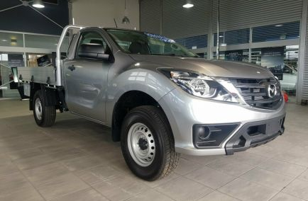New 2018 MAZDA BT-50 UR0YG1 Cab Chassis 2dr XT Single Cab Spts Auto 6sp 4x4 3.2DT 1380kg
