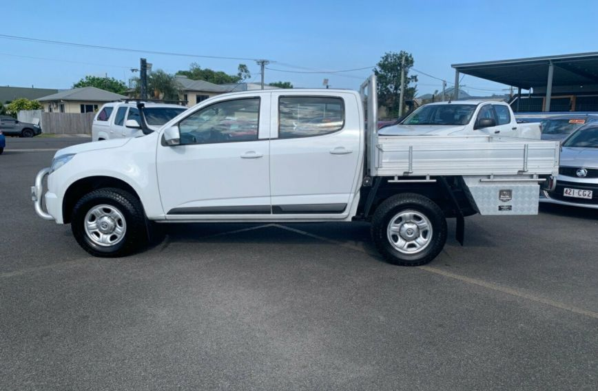 2014 HOLDEN COLORADO LX  RG Turbo Dual Cab Chassis Utility
