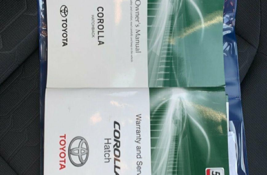 2019 TOYOTA COROLLA Ascent Sport  MZEA12R  SEDAN