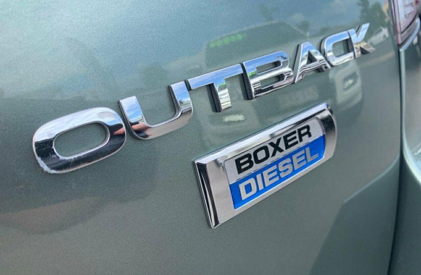 2014 SUBARU OUTBACK 2.0D  B5A Turbo Wagon