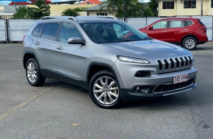 Used 2014 JEEP CHEROKEE KL Wagon 5dr Limited Spts Auto 9sp 4x4 3.2i