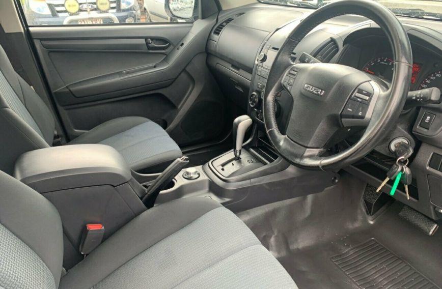2015 ISUZU D-MAX SX   Turbo Dual Cab Chassis Utility