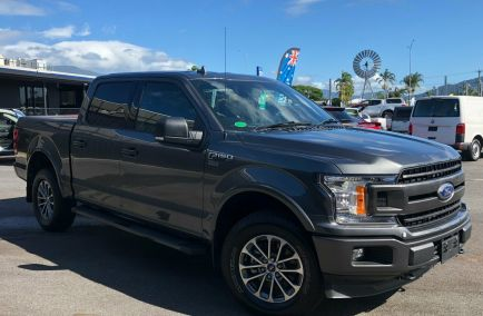 New 2018 FORD F150