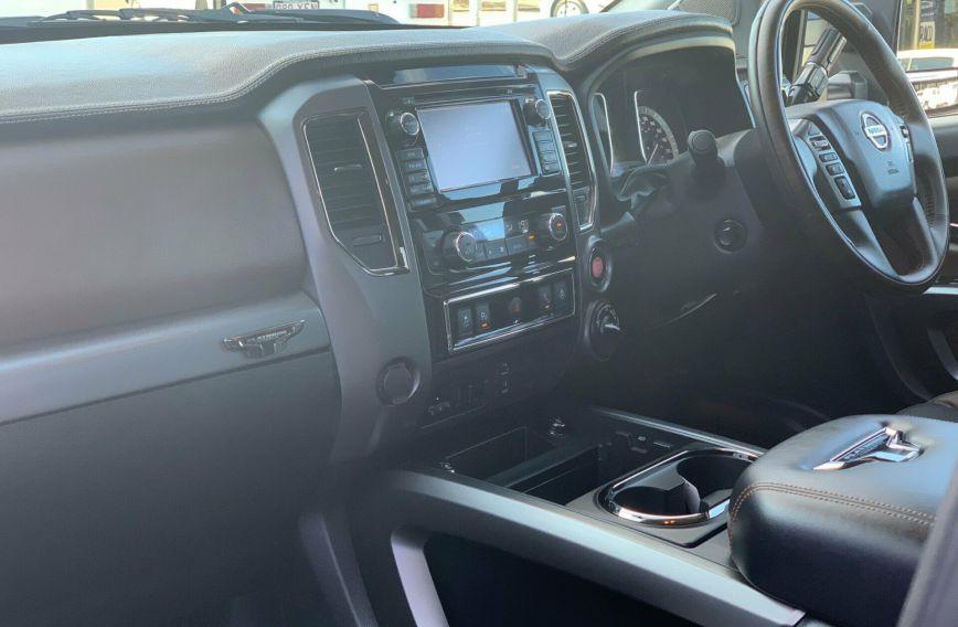 2018 Nissan XD Pro Titan XD  4X Diesel Utility Platnium  Crew Cab