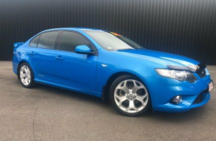 Used 2009 FORD FALCON FG Sedan 4dr XR6 Turbo Man 6sp 4.0T 480kg