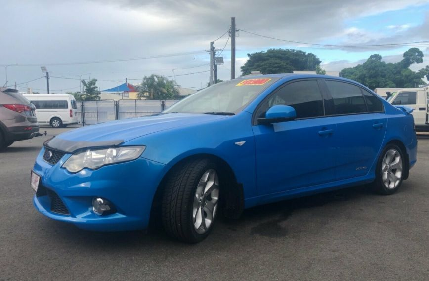 2009 FORD FALCON XR6 Turbo  FG Turbo SEDAN