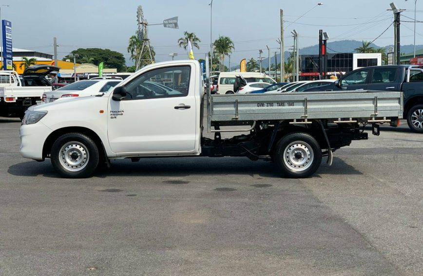 2014 TOYOTA HILUX SR  KUN16R Turbo CAB CHASSIS Single Cab