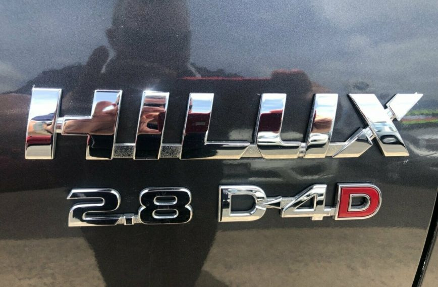 2016 TOYOTA HILUX SR  GUN126R Turbo Dual Cab Chassis Utility