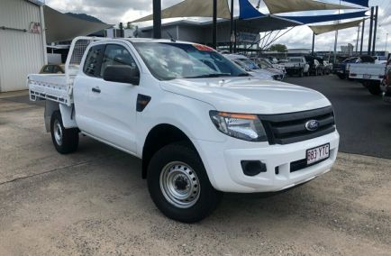 Used 2013 FORD RANGER PX Cab Chassis 4dr XL Hi-Rider Super Cab Spts Auto 6sp 4x2 2.2DT 1441kg