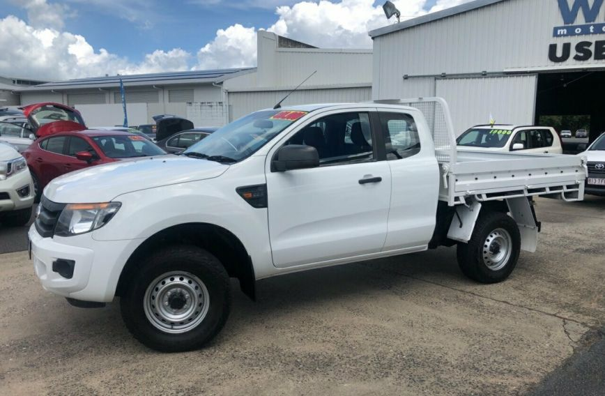 2013 FORD RANGER XL Hi-Rider PX Turbo CAB CHASSIS Extended C
