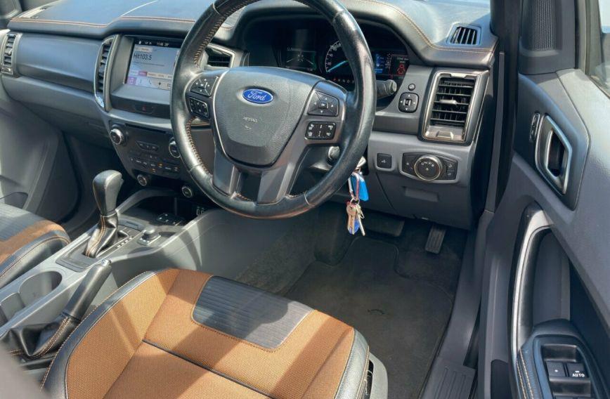 2016 FORD RANGER Wildtrak  PX MkII Turbo Dual Cab Utility