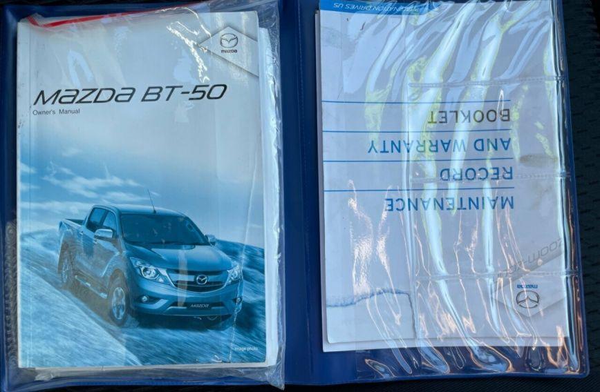 2015 MAZDA BT-50 XTR  UR0YF1 Turbo Dual Cab Utility