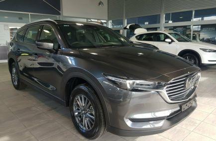 New 2018 MAZDA CX-8 KG2W2A Wagon 5dr Sport 7st SKYACTIV-Drive 6sp FWD 2.2DTT