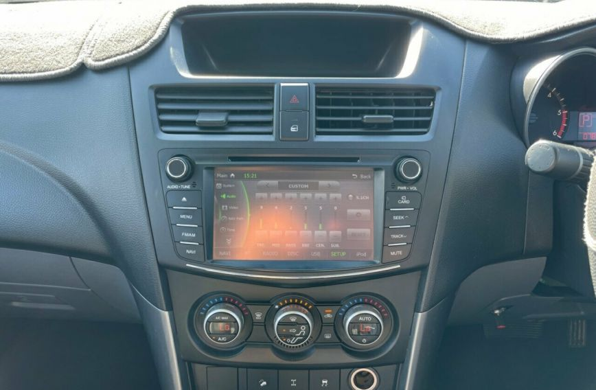 2016 MAZDA BT-50 XTR  UR0YF1 Turbo Extended Cab Utility