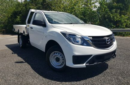 2018 MAZDA BT-50 XT  UR0YE1 Turbo Single Cab Chassis Utility