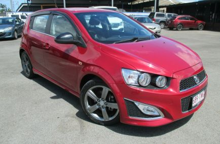 Used 2014 HOLDEN BARINA TM MY14 RS Hatchback 5dr Spts Auto 6sp 1.4T