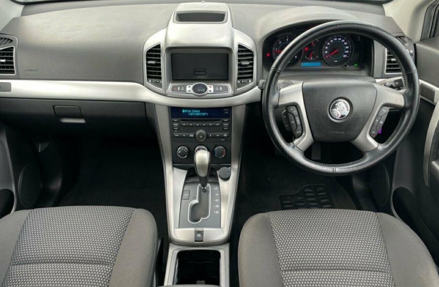 2013 HOLDEN CAPTIVA 7 SX CG Series II Turbo Wagon