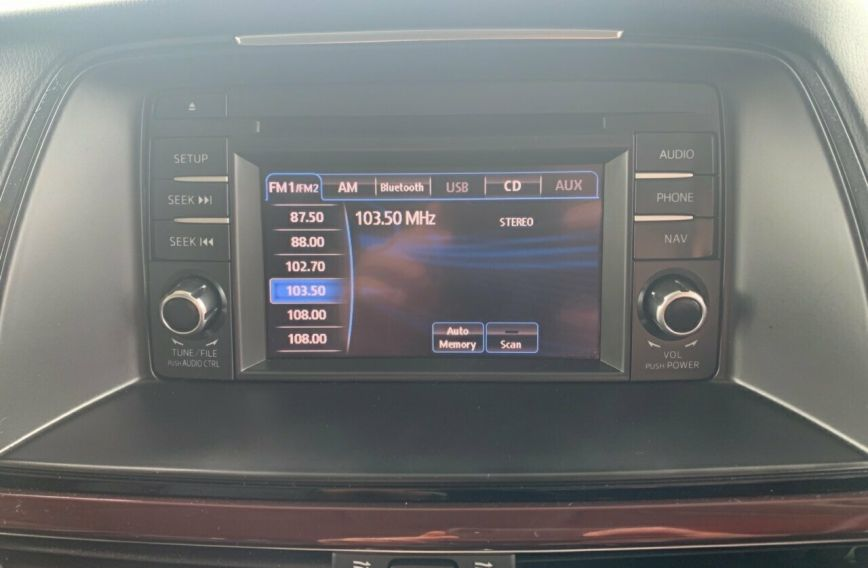 2013 MAZDA 6 Touring  GJ1021 Tw.Turbo Sedan