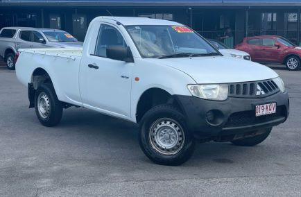 Used 2007 MITSUBISHI TRITON ML Cab Chassis 2dr GL Single Cab Man 5sp 4x2 2.4i 1327kg