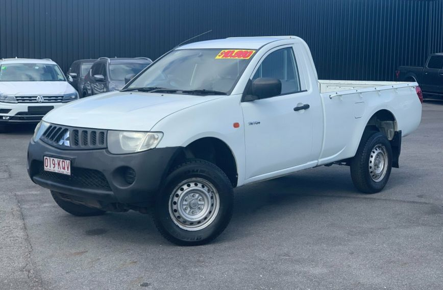 2007 MITSUBISHI TRITON GL  ML  CAB CHASSIS Single Cab