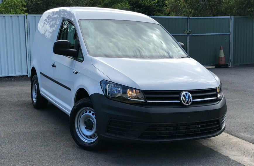 2017 VOLKSWAGEN CADDY TDI250  2KN Turbo VAN