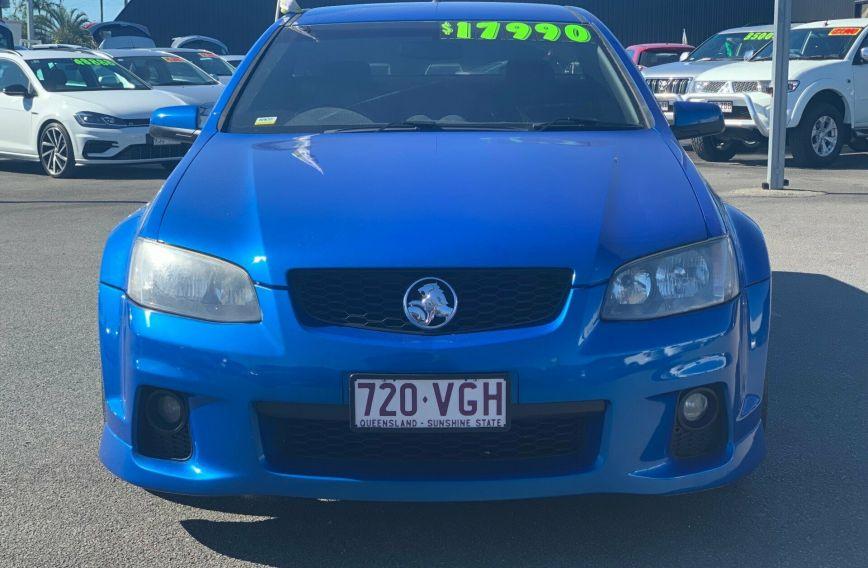 2011 HOLDEN UTE SV6 Thunder VE II  UTILITY Extended Cab