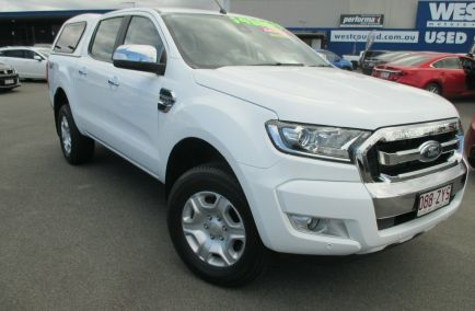 Used 2017 FORD RANGER PX MkII XLT Utility Double Cab 4dr Spts Auto 6sp 4x4 952kg 3.2DT