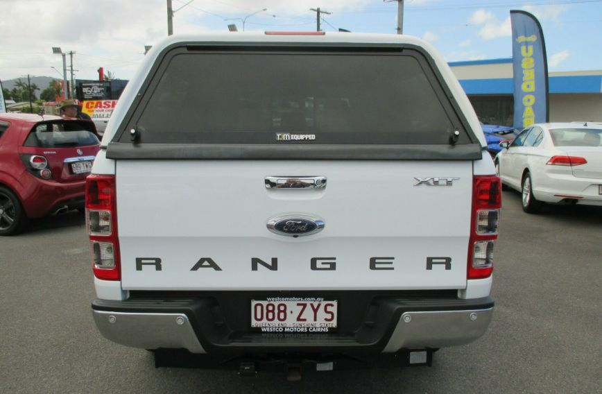 2017 FORD RANGER XLT  PX MkII Turbo UTILITY Dual Cab