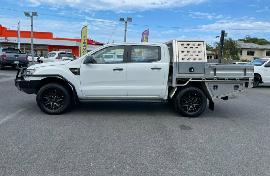 2015 FORD RANGER XL  PX MkII Turbo Dual Cab Chassis Utility