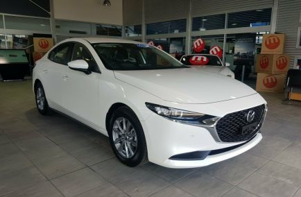 Demo 2019 MAZDA 3 BP2S7A Sedan 4dr G20 Pure SKYACTIV-Drive 6sp 2.0i