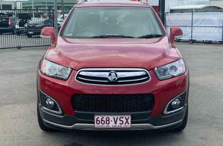 2015 HOLDEN CAPTIVA 7 LTZ CG Turbo Wagon