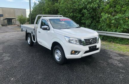 Used 2018 NISSAN NAVARA D23 S3 Cab Chassis 2dr RX Single Cab Man 6sp 4x2 2.3DT 1356kg