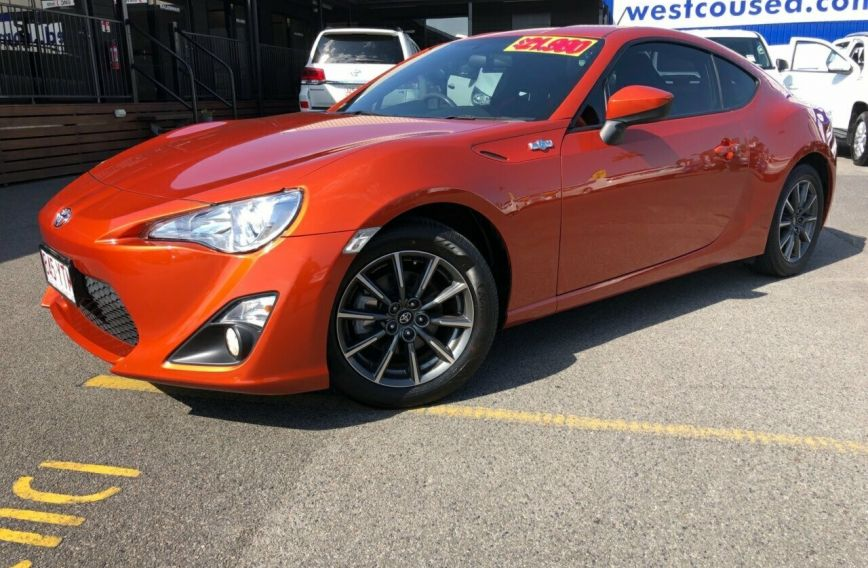2013 TOYOTA 86 GT  ZN6  Coupe