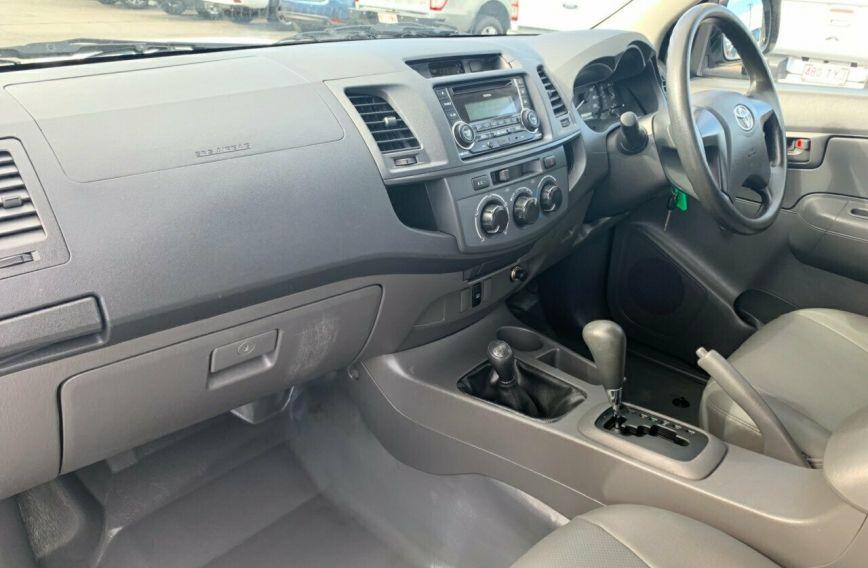 2013 TOYOTA HILUX Workmate  KUN26R Turbo UTILITY Dual Cab