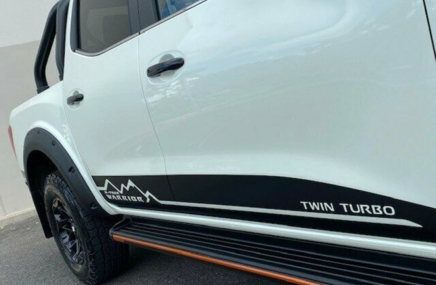 2020 NISSAN NAVARA N-TREK Warrior  D23 S4 Tw.Turbo Dual Cab Utility
