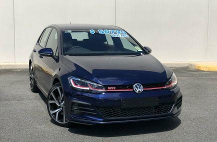 Used 2018 VOLKSWAGEN GOLF 7.5 Hatchback 5dr GTI DSG 7sp 2.0T