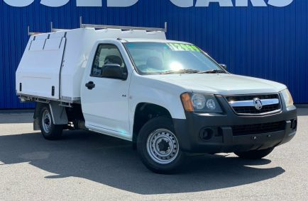 Used 2008 HOLDEN COLORADO RC Cab Chassis 2dr DX Single Cab Man 5sp 4x2 2.4i 1468kg