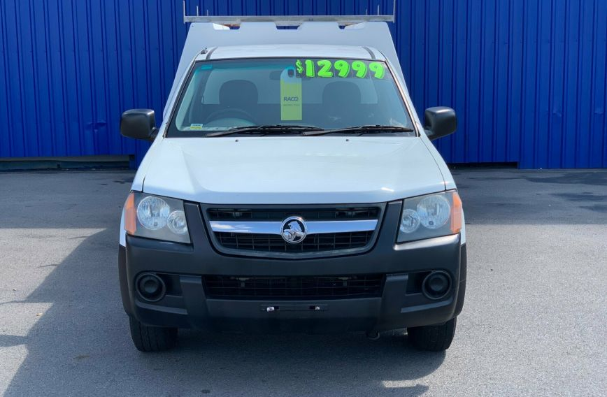 2008 HOLDEN COLORADO DX  RC  CAB CHASSIS Single Cab