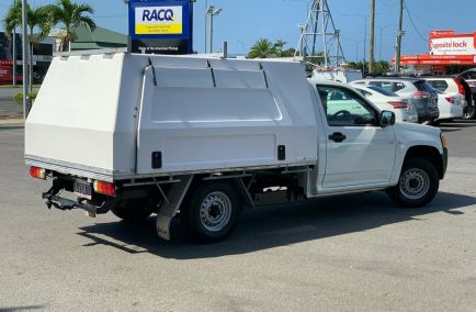 2008 HOLDEN COLORADO DX  RC  Single Cab Chassis Utility