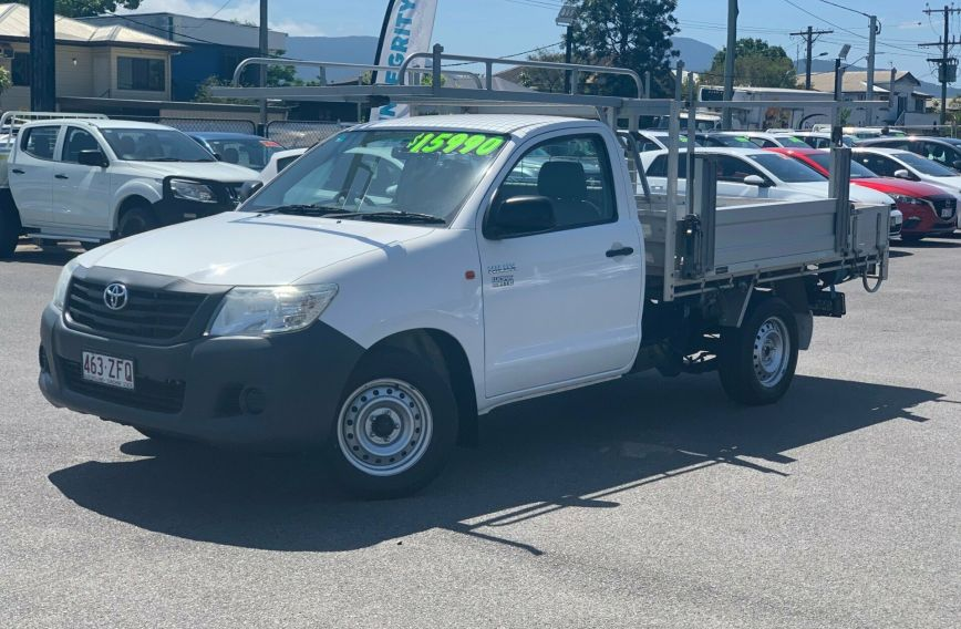2015 TOYOTA HILUX Workmate  TGN16R  CAB CHASSIS Single Cab