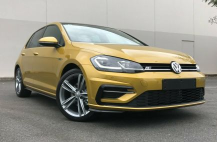 Demo 2017 VOLKSWAGEN GOLF 7.5 Hatchback 5dr 110TSI Highline DSG 7sp 1.4T