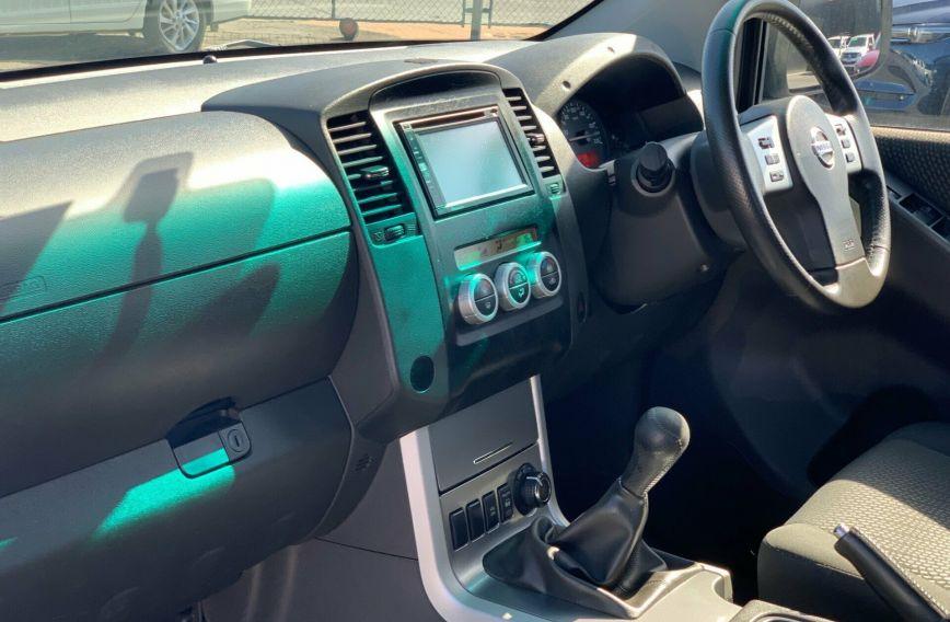 2012 NISSAN NAVARA ST  D40 S6 Turbo UTILITY Dual Cab