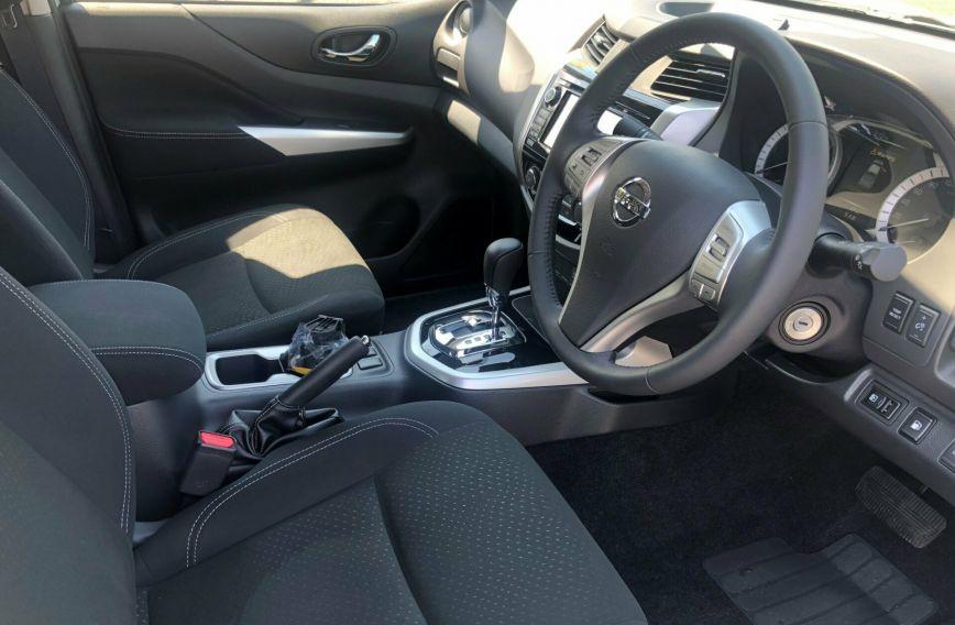 2018 NISSAN NAVARA ST Black Edition D23 S3 Tw.Turbo UTILITY Dual Cab